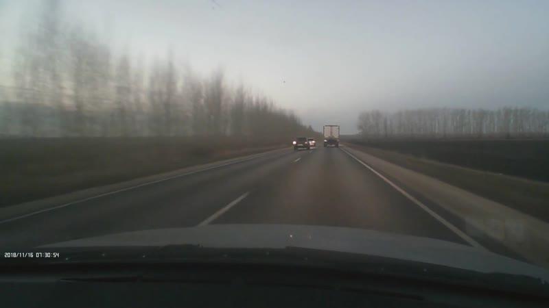 Страшная авария около Орлово (Новоусманский район) 16 ноября