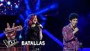 Lucía vs Juan Pablo - All that jazz - Liza Minnelli - Batallas - La Voz Argentina 2018