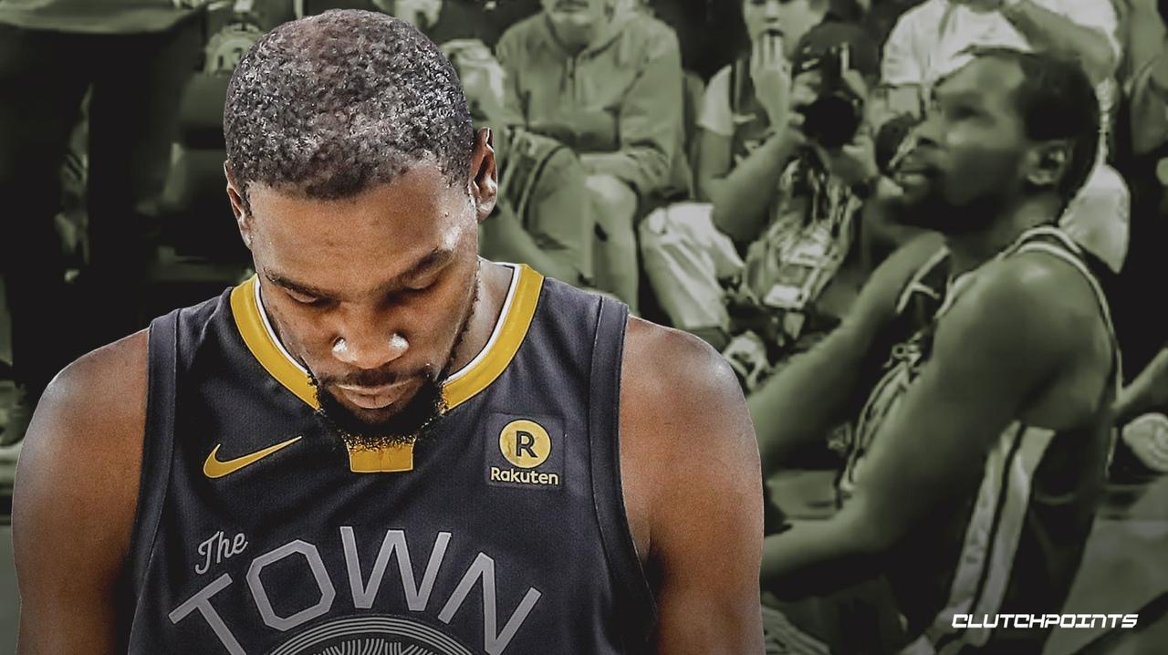 Кевин Дюрэнт покинул площадку из-за повреждения в 5-м матче финальной серии НБА