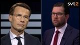 Debatt i Agenda Ulf Kristersson omvandla sin frustration till stenh