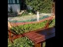 Стойка для гамака своими руками реставрация или вторая жизнь Stand for hammock with your own hands