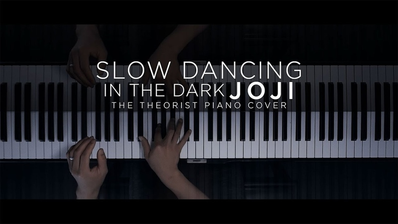 Joji - SLOW DANCING IN THE DARK   The Theorist Piano Cover