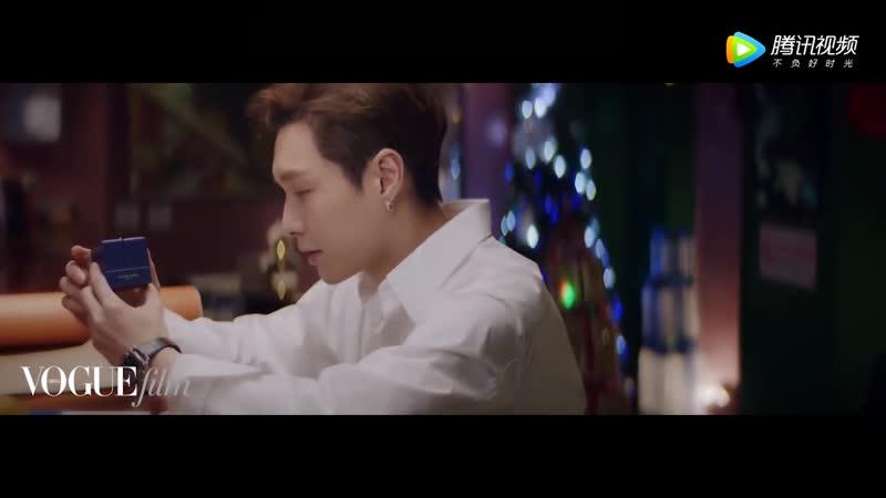 181210 EXO's Lay @ VogueMe on WeChat (Vogue film)