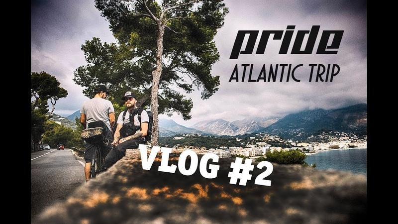 Из Милана в Лиссабон на велосипеде VLOG2