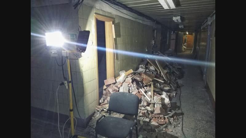 Полный хаус без света и стен как выглядит Газетный комплекс после взрыва