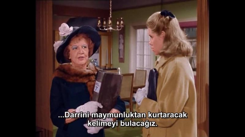 Tatlı Cadı 2.Sezon 1.Bölüm Türkçe Altyazı Alias Darrin Stephens1964