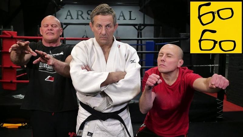 Тренировки и спарринги вслепую от Шидловского! Борьба и ударка с закрытыми глазами (feat. Бадыров)