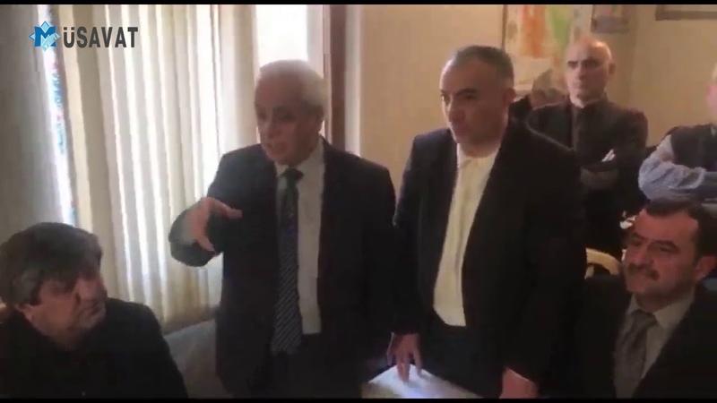 İsgəndər Həmidov Qarabağ Komitəsindın istefa verdi