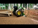 RC TRACTOR in the FOREST /Fun Action with Rc Toys