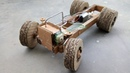 How to make powerfull truck's chass from cardboard
