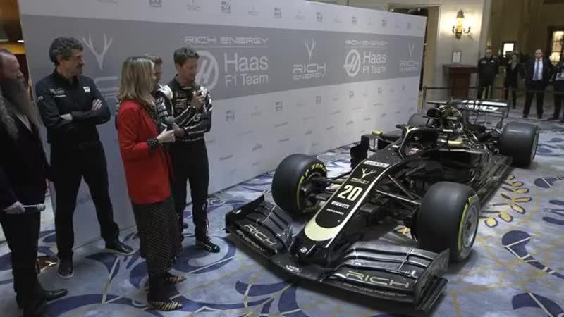 Haas F1 2019 - презентация