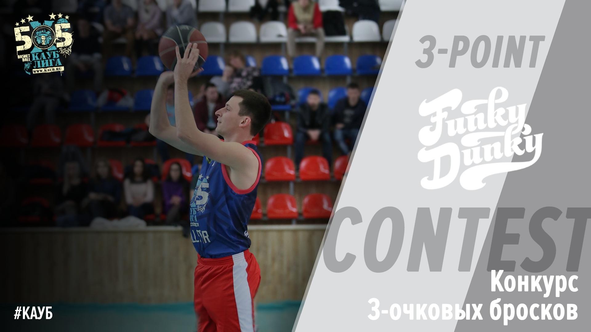 Лига КАУБ 5х5 конкурс 3-очковых бросков