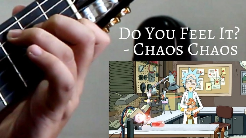 Do You Feel It Rick and Morty (Solo Guitar Cover)