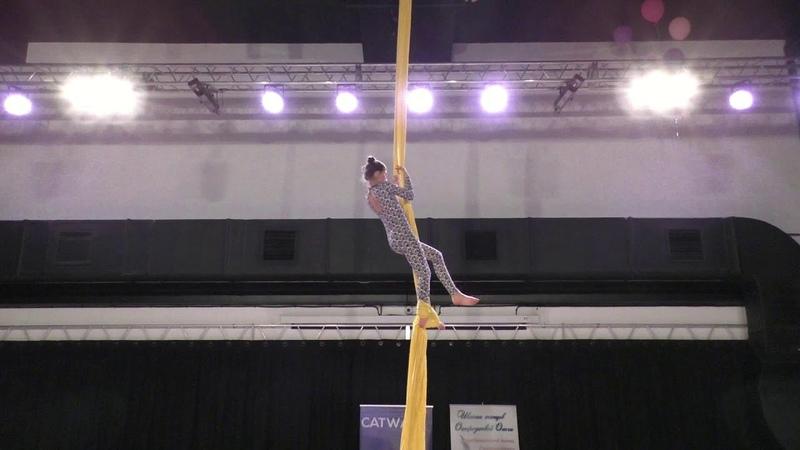 Екатерина Елина Catwalk Dance Fest pole dance aerial 30 04 18