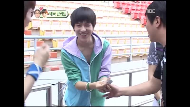 [HQ_⁄090322] SHINee on WGM Taeyoun Hyungdon @ Thailand SM Concert