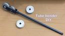 Giętarka do rur własnej roboty Tube bender DIY