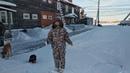 Девочка с Юга и Зима на Русском Севере 2019
