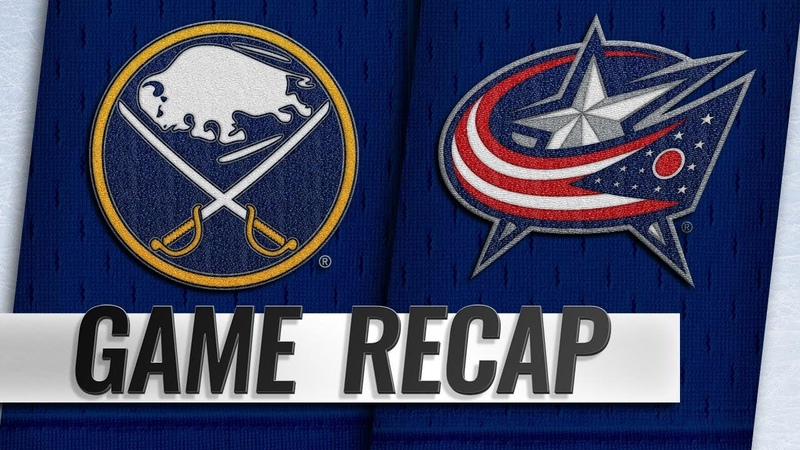Sheary, Rodrigues help Sabres edge Blue Jackets, 5-4