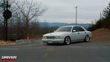 1993 Silky Snow White Nissan Cima V8