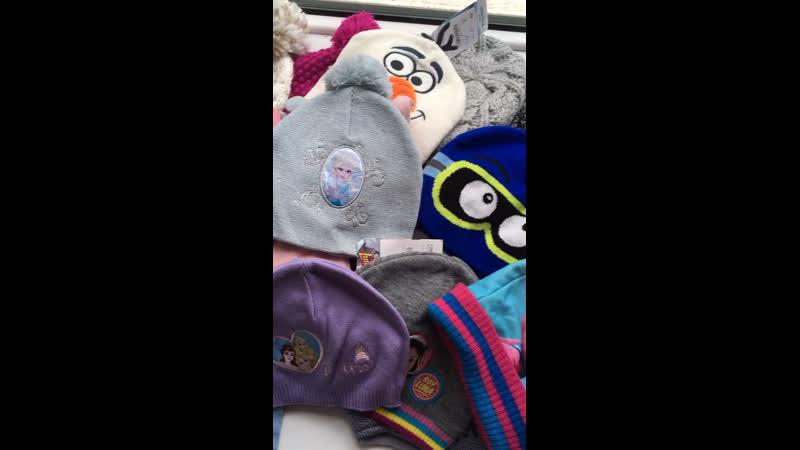 Детские шапки,шарфы,перчатки