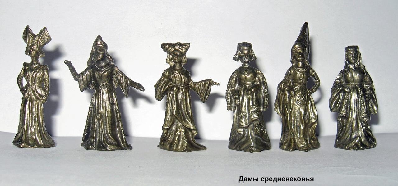 Солдатики на все времена - Дамы Средневековья
