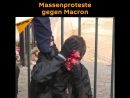 Paris Gewalt bei Protesten gegen Macron