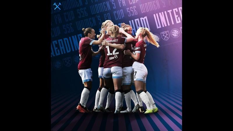 Reading v West Ham - Full Match - FA Cup semi-finals (14th April 2019)