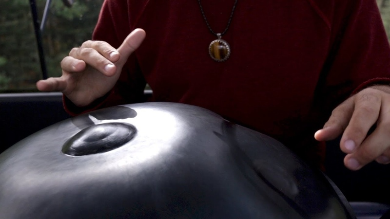 Philippe Gagné Covers Ain't No Sunshine Bill Withers on Handpan Gondola Sessions