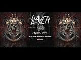 Slayer, Lamb Of God, Anthrax, Obituary 8.12.18 Helsinki. Finland. video Alex Kornyshev