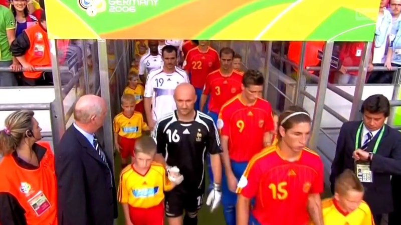Espanha vs França 1-3 Copa do mundo 2006|Melhores Momentos