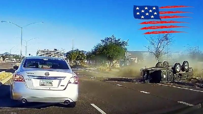 CAR CRASHES IN AMERICA 34 BAD DRIVERS USA CANADA