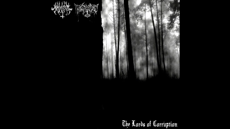 Amdusias - The Lords of Corruption (Split 2018)
