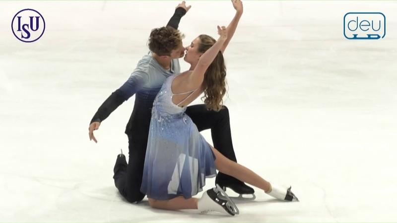 Christina CARREIRA Anthony PONOMARENKO USA Free Dance Nebelhorn Trophy 2018