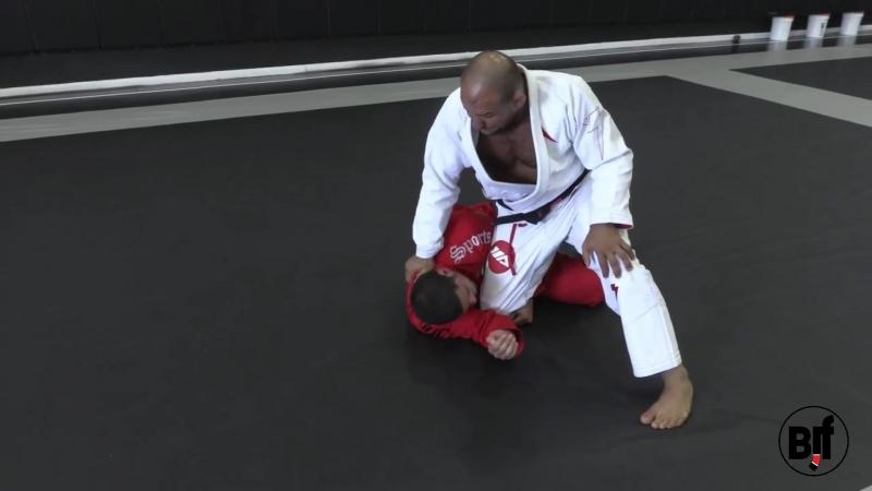 Roberto Cyborg Abreu Back Step Kimura back take