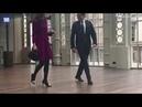 Kate Middleton arrives at Royal Opera House in purple dress