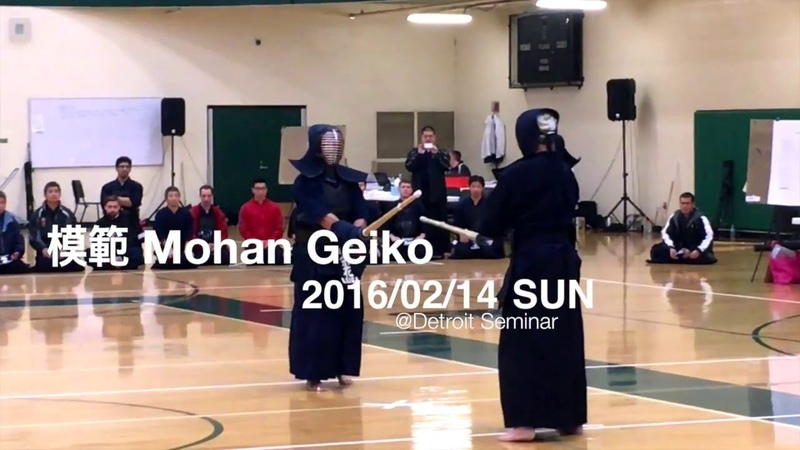 Mohan Geiko@2016 Detroit Seminar with Eiga Brothers and Tagawa Sensei
