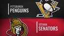 Pittsburgh Penguins vs Ottawa Senators Dec 08 2018 NHL Game Highlights Обзор матча