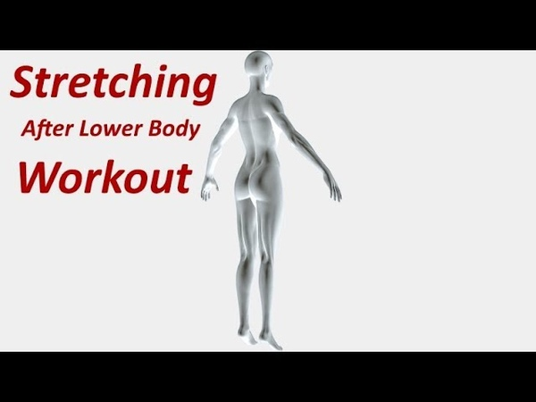 Cool Down Stretching - After Lower Body (legs) Workout