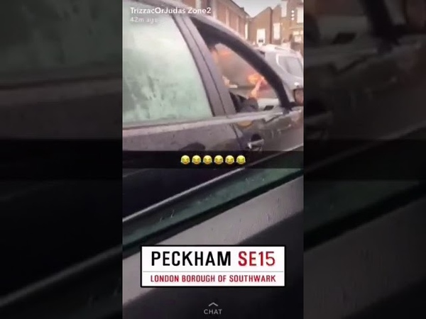 Trizzac zone 2 sees road rage in pecks 😂