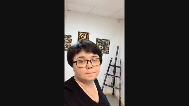 Live: Выставка абстрактной живописи в салоне SlonArt