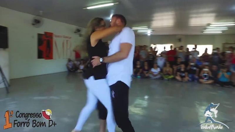 Baila Mundo - Clemilson e Wanessa X Kuque e Marcela (1º Congresso Forró Bom D)