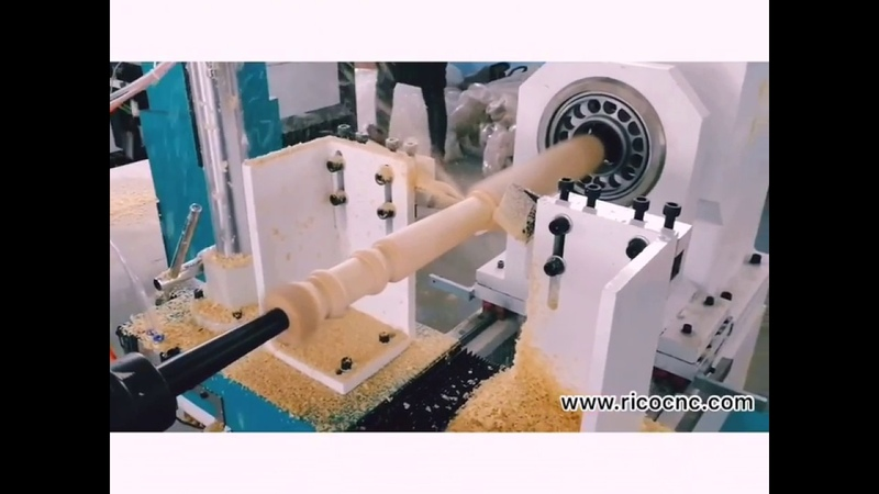 Woodturning cnc lathe with carbide and 3 in 1 wood lathe knives