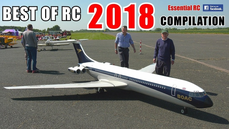 ② BEST OF ESSENTIAL RC 2018 | LARGE SCALE AND FAST RC ACTION COMPILATION