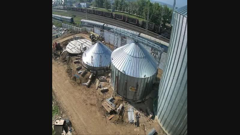 Строительство силосных бункеров