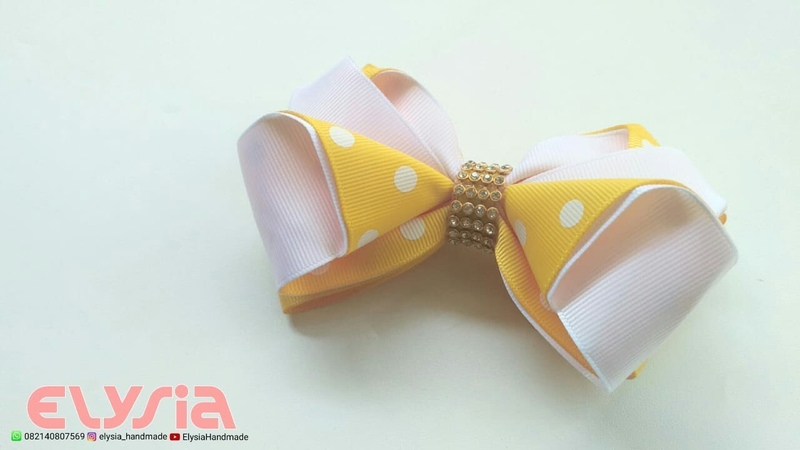 Laço Maureen II 🎀 Ribbon Bow 🎀 DIY by Elysia Handmade