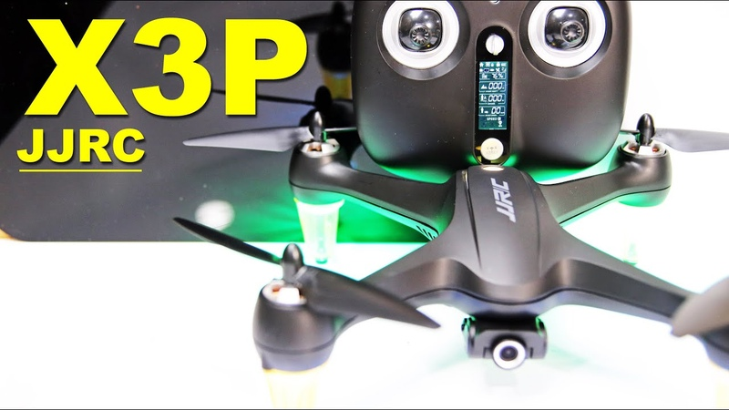 JJRC X3P GPS Drone with 1080p Camera - Review Demo