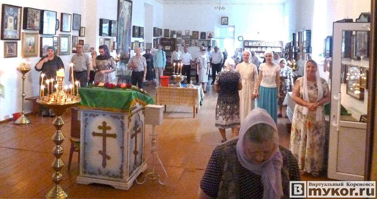 Престольный праздник храма святого преподобного Сергия Радонежского 18 июля 2019 года фото