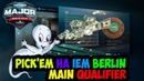 PICK'EM НА IEM Berlin Main Qualifier ОТ KASPER SERGIO CS GO