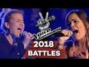 Ariana Grande - One Last Time (Shireen Nikolic x Nora Brandenburger) | The Voice of Germany | Battle