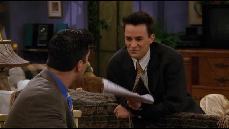 Friends S03E12 - mit den Nerven runter sein